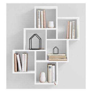Kệ treo tường kiểu ô vuông